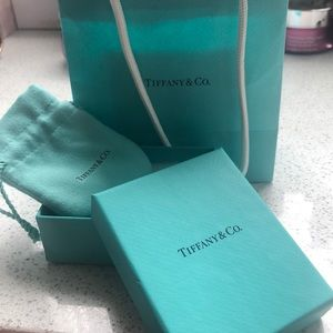 Tiffany & Co. bag, box and pouch